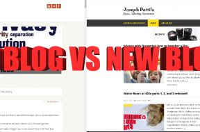 old blog vs new blog