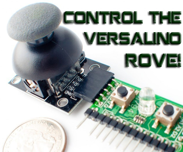 Control the Versalino Rove with the Versalino Control