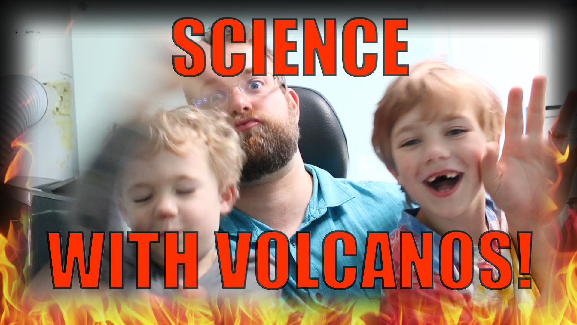 SCIENCE with a Volcano! Acid Base Reactions