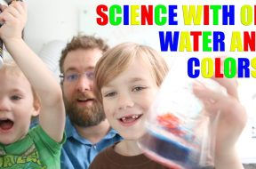Density Experiment with Oil, Water, and Food Coloring! preview