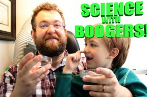 Science with boogers! Preview